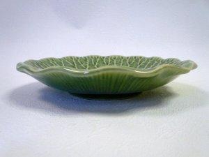 画像2: キャベツ柄 皿19cm