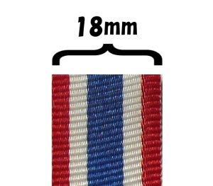画像1: タイ国旗リボン    幅18mm
