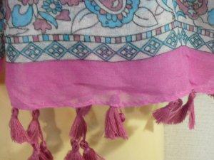 画像3: 【特価】         フリンジスカーフ       ピンク