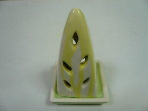 画像1: タイ製 三角型香炉  黄色