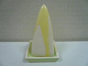 画像4: タイ製 三角型香炉  黄色