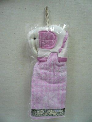 画像4: 姿象のタオル        白ピンク耳