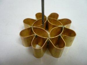 画像1: 揚げ菓子調理器具 カノム・ドークジョーク 8ホール(7cm)