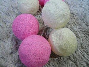 画像2: コットンボール     ピンク白