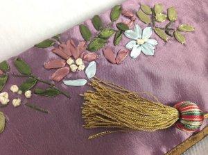 画像5: ティッシュカバー       花柄(紫)