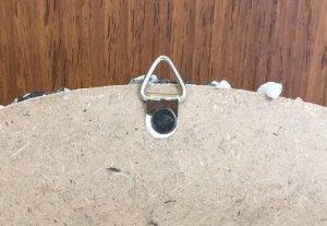 画像4: 貝細工の大きな鏡 スタンド&壁掛け式 【楕円サイズ】