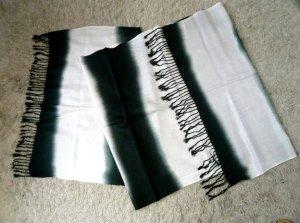 画像3: グラデーション パシュミナ&シルク   ブラック