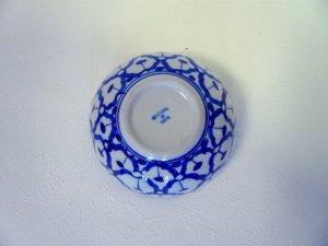 画像4: 青白陶器      ボール型 (小)11cm