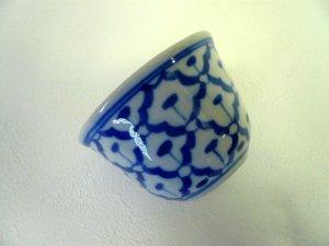 画像4:  青白陶器        湯飲み(大)