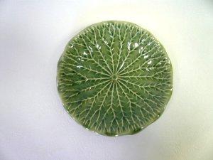 画像3: キャベツ柄 皿19cm