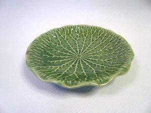 画像1: キャベツ柄 皿19cm