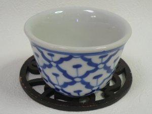 画像1:  青白陶器        湯飲み(大)