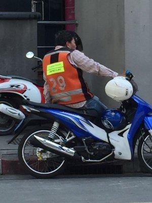 画像4: バイクタクベスト   オレンジL 5 【スクンビット4】