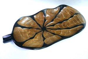 画像1: マンゴウッド      大皿 リーフ 46