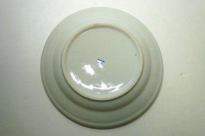 画像5:  青白陶器      平皿  18cm