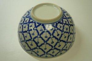 画像5:  青白陶器       18cmどんぶり