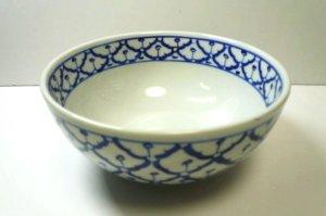 画像1:  青白陶器       18cmどんぶり