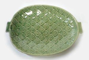 画像2: パイナップル平皿    直径26cm