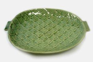 画像1: パイナップル平皿    直径26cm