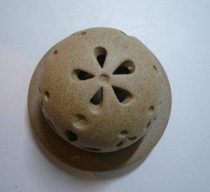 画像3: 香炉            素焼き風丸型