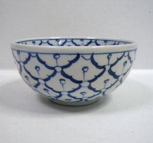 画像2:  青白陶器       お椀13cm
