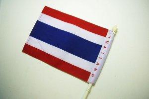 画像2: タイ国旗 手旗21cm×15cm