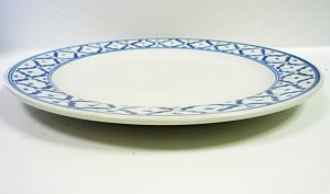 画像2:  青白陶器       平皿    23cm