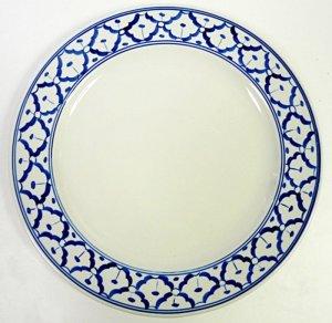 画像3:  青白陶器       平皿    23cm