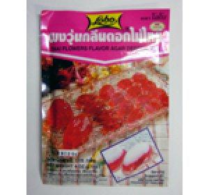 画像1: タイ風寒天の素  花の香り味 12個