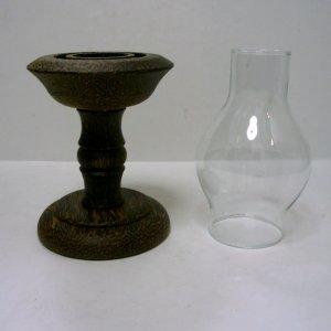 画像3: キャンドルポット      木製