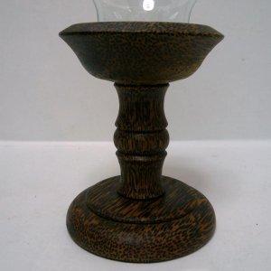 画像2: キャンドルポット      木製
