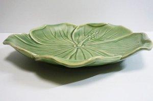 画像3: ハイビスカス柄 皿(小) 20cm