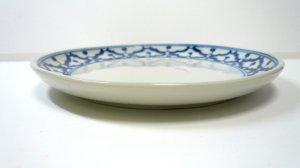 画像3:  青白陶器        平皿 16cm